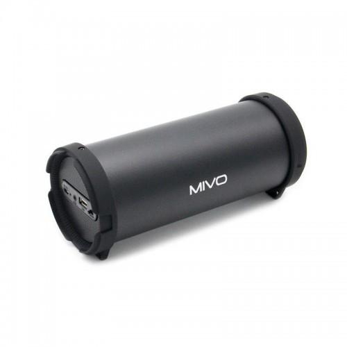 Портативный мини бумбокс Mivo M03 (Bluetooth, USB, FM, AUX, Mic)