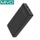 Внешний аккумулятор 20000 mAh Mivo MB-200 (2 USB, Micro USB, Type C)