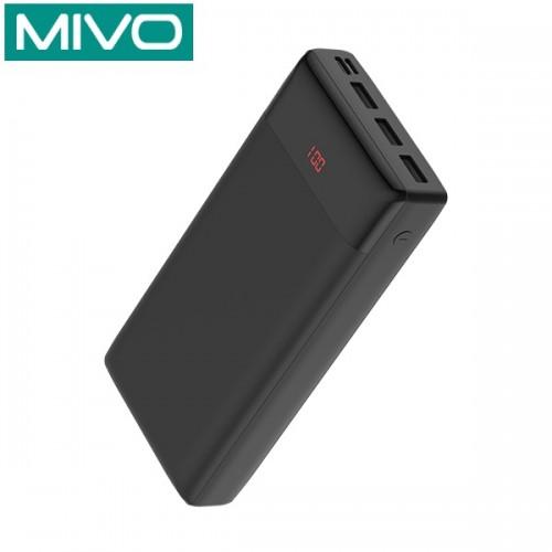 Универсальное зарядное устройство повышенной емкости Mivo MB-300 30000 mAh