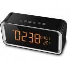 Колонка Musky DY-33 (Bluetooth, MP3, FM, AUX, Mic, часы, будильник, термометр)