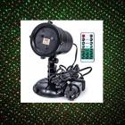 Уличный лазерный проектор Outdoor Laser Light Stars (2 цвета, датчик света, пульт, таймер, режимы)