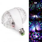Вращающаяся двойная декоративная RGB лампа E27