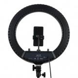 """Кольцевая лампа для фото и видео съемки Ring Light HQ-18"""" (45 см) со штативом 2м"""
