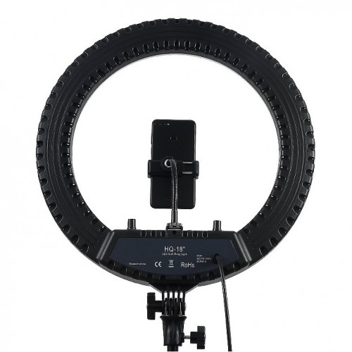 """Кольцевое освещение для профессиональной съемки Ring Light HQ-18"""" (45 см) + штатив 2м"""