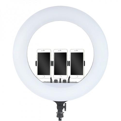 "Кольцевая лампа большого размера LED Soft Ring Light RL-21"" (54 см), со штативом"