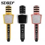 Беспроводной караоке микрофон SDRD SD-17 (Bluetooth, MP3, AUX, KTV)