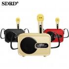 Беспроводная караоке система SDRD SD-502 (USB/Bluetooth/TF, 1 микрофон)