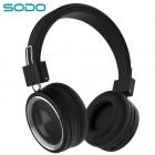 Беспроводные наушники Sodo SD-1002 (Bluetooth, MP3, FM, AUX, Mic)