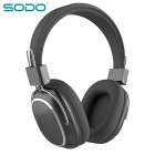 Беспроводные наушники Sodo SD-1004 (Bluetooth, MP3, FM, AUX, Mic)