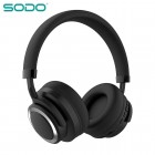 Беспроводные наушники Sodo SD-1005 (Bluetooth, MP3, FM, AUX, Mic)