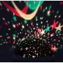 """Круглый вращающийся ночник-проектор """"Звездное небо"""" Star Master Dream"""