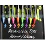 Набор флуоресцентных маркеров для оформления LED доски, 6 мм, 8 шт.