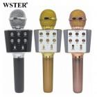 Беспроводной Караоке Микрофон Wster WS-1688 (Bluetooth, MP3, AUX, KTV, REC, 4-Voice)
