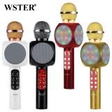 Беспроводной Караоке Микрофон Wster WS-1816 (Bluetooth, MP3, FM, AUX, KTV, REC)