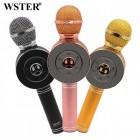Беспроводной Караоке Микрофон Wster WS-668 (Bluetooth, MP3, FM, AUX, KTV, Rec, 4Voise, REC)