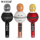 Беспроводной Караоке Микрофон Wster WS-878 (Bluetooth, MP3, AUX, FM, KTV, REC)