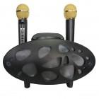 Беспроводная стерео караоке система Karaoke Speaker XY-168 (USB/Bluetooth/TF, 2 микрофона)