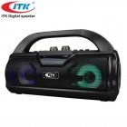 Беспроводной бумбокс iTK T-356 (Bluetooth, USB, micro SD, FM, AUX, Mic)