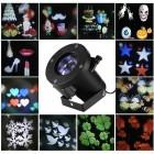Светодиодный проектор LED 10 Pattern Projector цветной, 12 слайдов, влагозащищенный