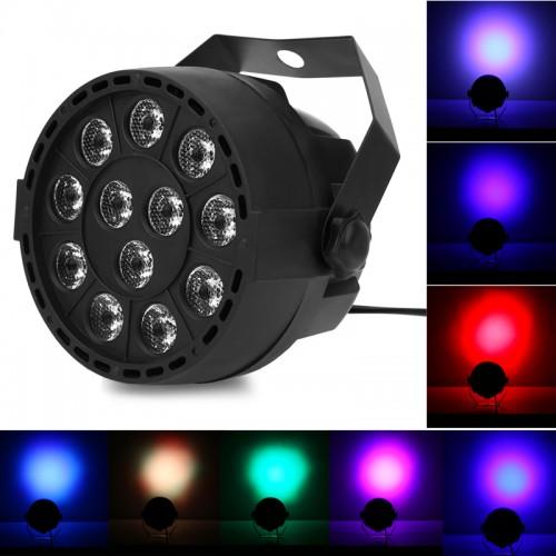 Фоно-заливочный светодиодный прожектор Пар лайт 12 LED Stage Par Light
