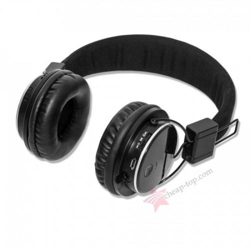 Беcпроводные наушники Atlanfa AT - 7611 (Bluetooth, MP3, FM, AUX, Mic)