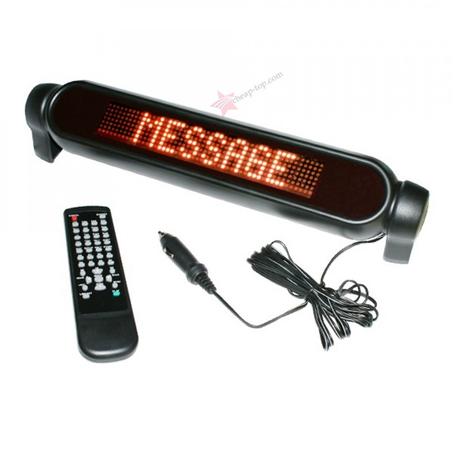 Led Car Message Display Autotext
