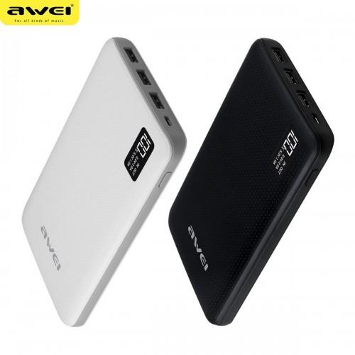 Оригинальное зарядное устройство Mobile Power Bank Awei P56K 30000 mAh