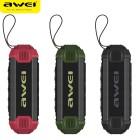 Влагозащищенная беспроводная колонка Awei Y280 (Bluetooth, MP3, AUX, Mic, Power Bank)