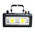 Стробоскоп со звуковой активацией LED Bodyguard Strobe 40W (белый)