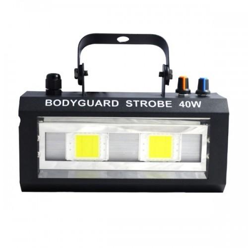 Стробоскоп Bodyguard Strobe Series 40W холодный белый свет, звуковая активация 20W x 2