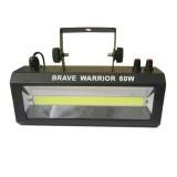 Стробоскоп со звуковой активацией Brave Warrior 60W (белый, LED)