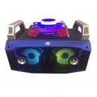 Портативная акустика CYD DJ-717 (Bluetooth, USB, micro SD, FM, AUX, Mic)