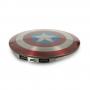 Внешний аккумулятор универсальный Advengers Captain America's Shield 6800 mAh