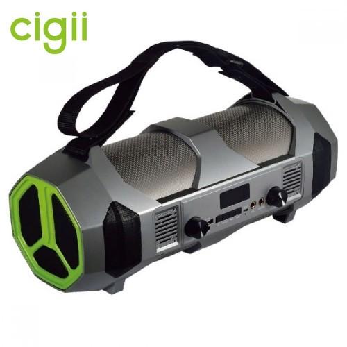 Стерео бумбокс 2.1 Cigii S37 (Bluetooth, USB, micro SD, FM, AUX, Mic)