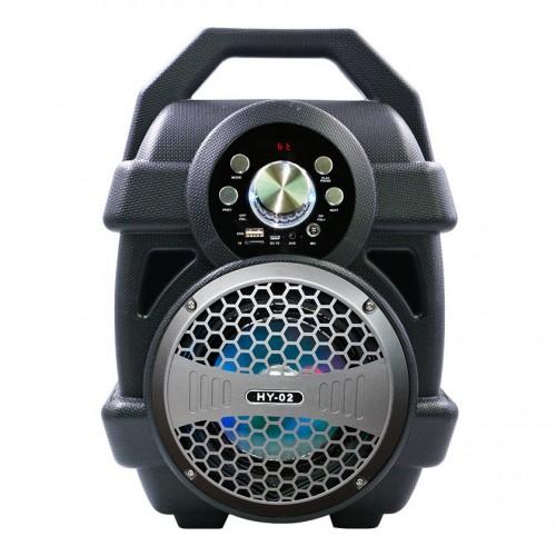 Беспроводная портативная колонка Speaker HY02 (Bluetooth, USB, SD, FM, AUX)