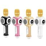 Беспроводной караоке микрофон Handheld M8 (Bluetooth, MP3, AUX, KTV, LED)