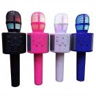 Микрофон караоке Handheld KTV Q858 (Bluetooth, MP3, AUX, KTV)