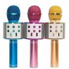 Беспроводной караоке микрофон Handheld WS-858 (Bluetooth, MP3, FM, AUX, KTV)