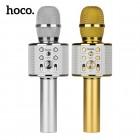 Беспроводной караоке микрофон Hoco BK3 (Bluetooth, MP3, AUX, KTV)
