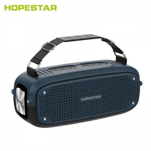 Портативная акустическая стерео колонка Hopestar A21 (Bluetooth, TWS, FM, MP3, AUX, Mic)