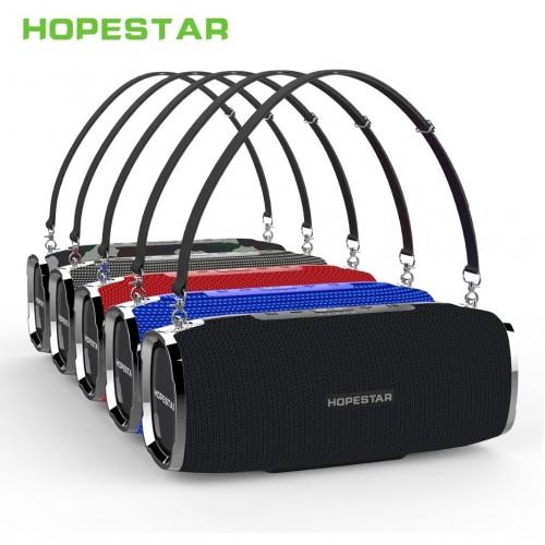Портативная акустическая стерео колонка Hopestar A6 (Bluetooth, TWS, MP3, AUX, Mic)