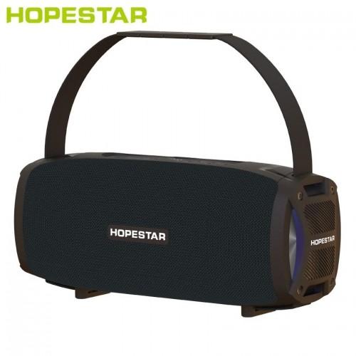 Портативная акустическая стерео колонка Hopestar H24 Pro (Bluetooth, MP3, FM, AUX, Mic, LED)