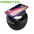Беспроводная колонка с беспроводной зарядкой Hopestar H38 (Bluetooth, MP3, AUX, Mic, QI)