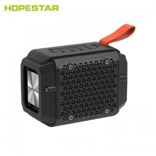 Переносная мини колонка Hopestar P18 (Bluetooth, TWS, FM, MP3, AUX, Mic)