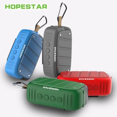 Портативная влагозащищенная стерео колонка Hopestar T5 (Bluetooth, TWS, FM, MP3, AUX, Mic)