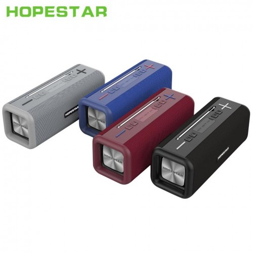 Портативная влагозащищенная стерео колонка Hopestar T9 (Bluetooth, TWS, FM, MP3, AUX, Mic)