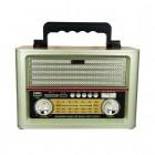 Портативная Ретро колонка - радиоприемник Kemai MD-1705BT (Bluetooth, USB, SD, FM, AUX)