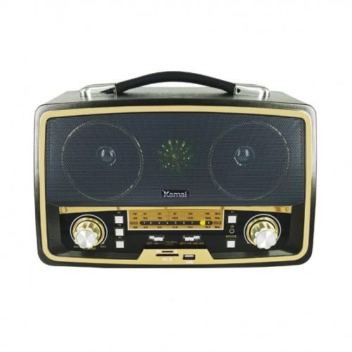 Универсальная стерео - колонка в стиле старого радиоприемника Kemai MD-1701U