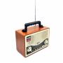 Портативная Ретро акустика с радио и плеером Kemai MD-1706BT