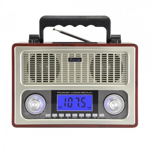 Универсальная стерео - колонка в стиле старого радиоприемника Kemai MD-1801UR